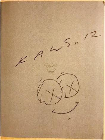 353x470 Cloud Drawing Signed By Kaws On Artnet