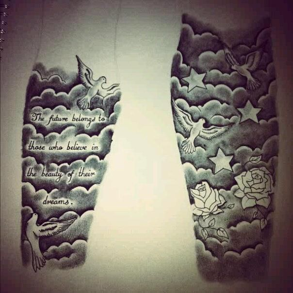 Cloud Drawing Tattoo At Getdrawings Com Free For Personal Use