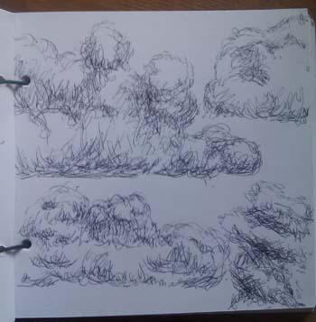 350x357 Week 16 Digital Sketching And Traditional Sketching Ink