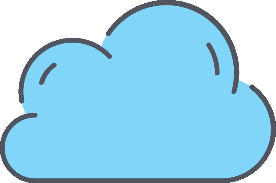 913x604 Cloud Drawing Clip Art