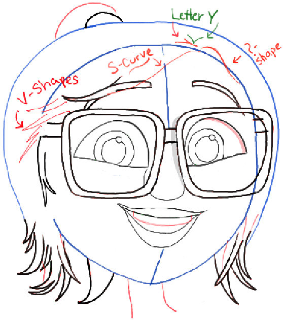 558x630 How To Draw Sam Sparks From Cloudy With A Chance Of Meatballs 2