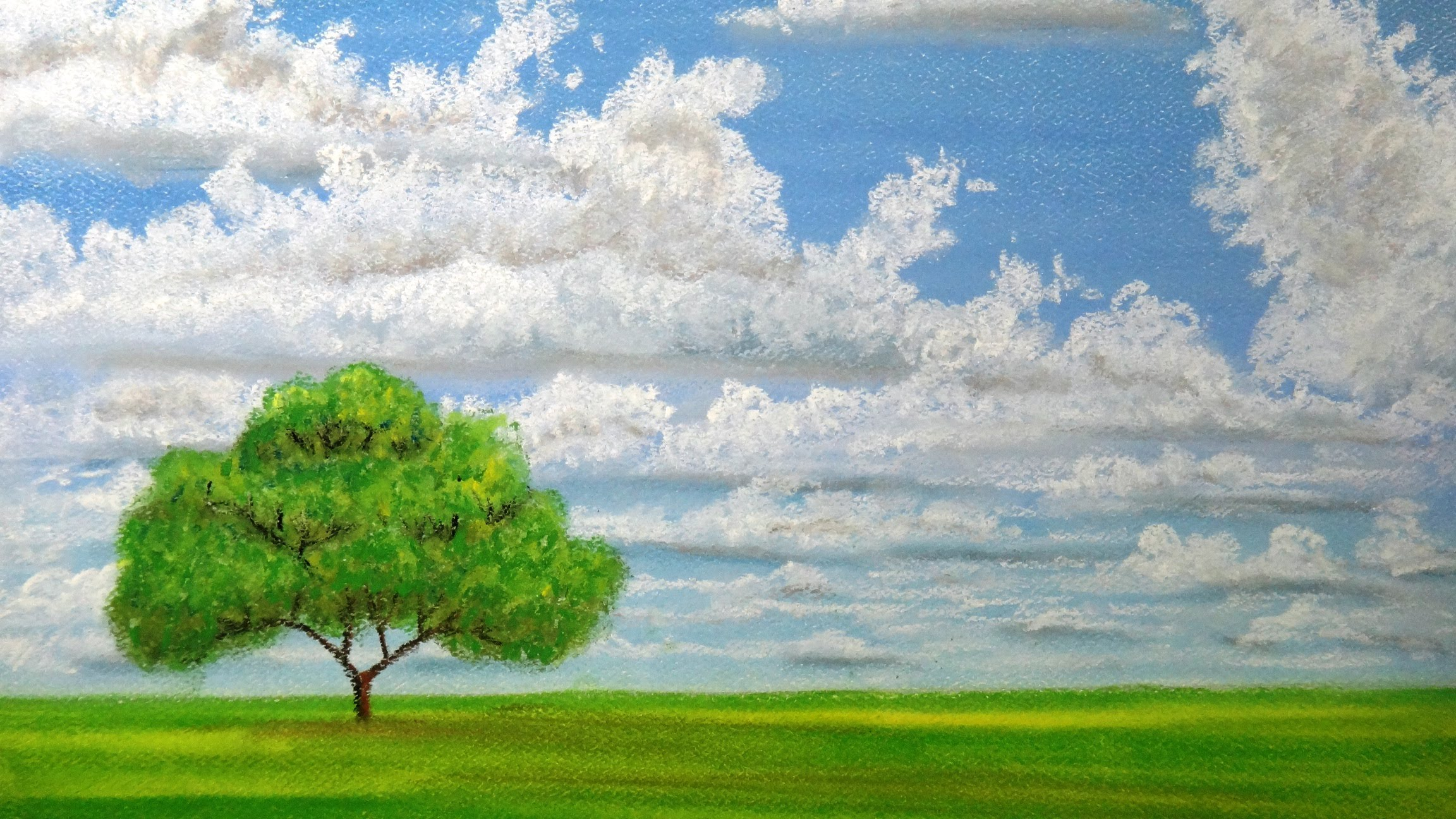 2304x1296 How To Draw Landscape With Pastels
