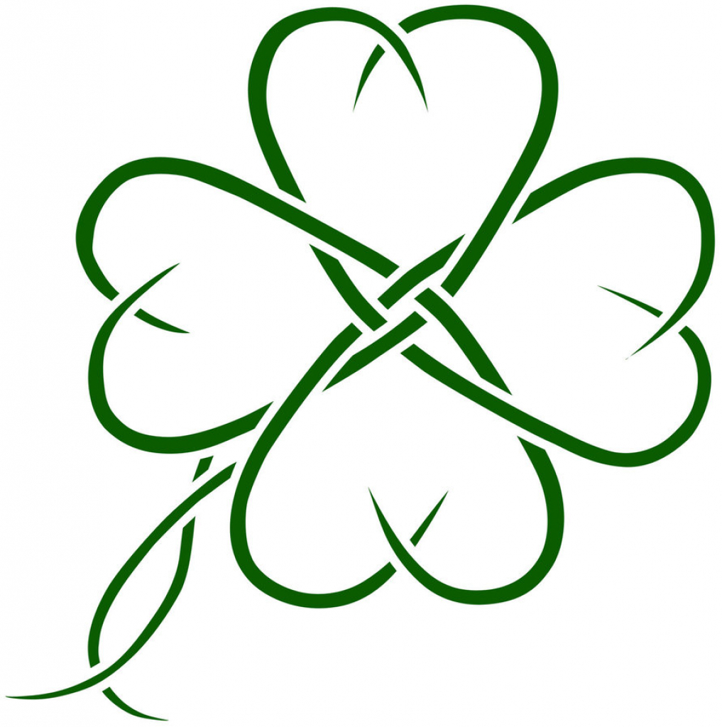 Clover Leaf Drawing at GetDrawings.com | Free for personal use ...