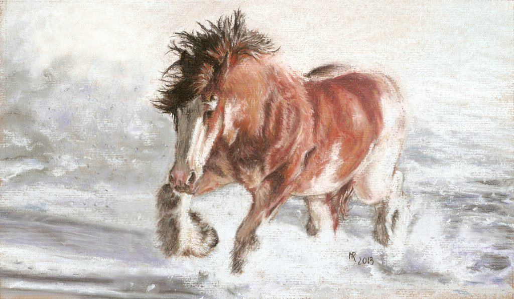 1024x596 17. Clydesdale Horse Winter By Mrfour1