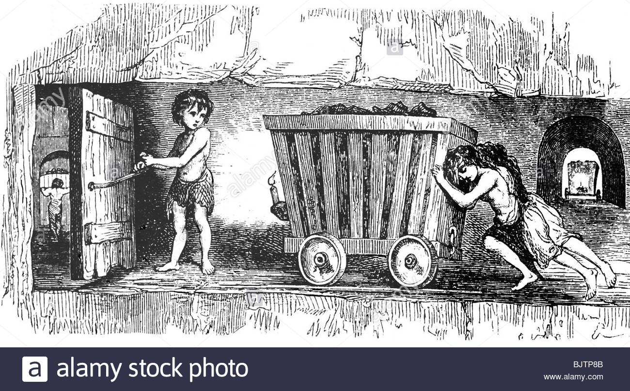 1300x806 Mining, Mine, Child Labour In Wales, Mid 19th Century