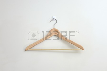 450x300 A Close Up Shot Opt A Coat Hanger Stock Photo, Picture And Royalty