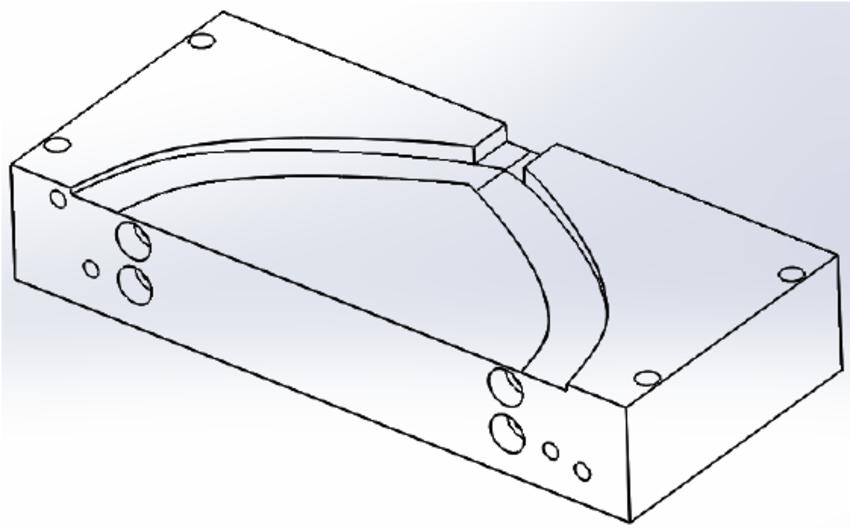 850x529 Drawing Of The Designed Coat Hanger Die.