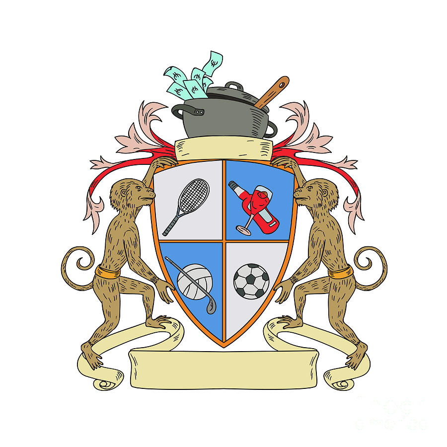 Coat Of Arms Drawing At Getdrawings Free For Personal Use Coat