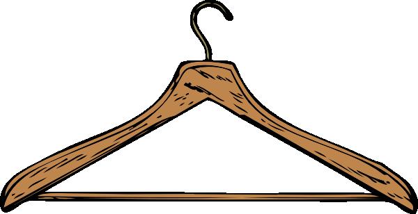 600x308 Coat Hanger Clip Art