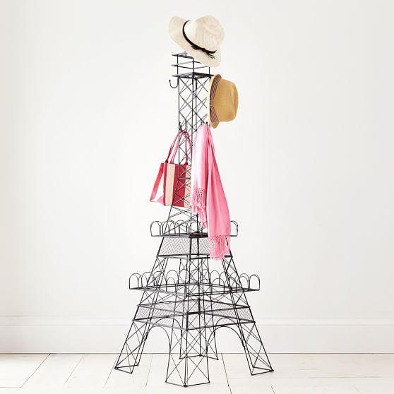 558x558 Eiffel Tower Coat Rack! Pb Teen. Discontinued Home Sweet Home