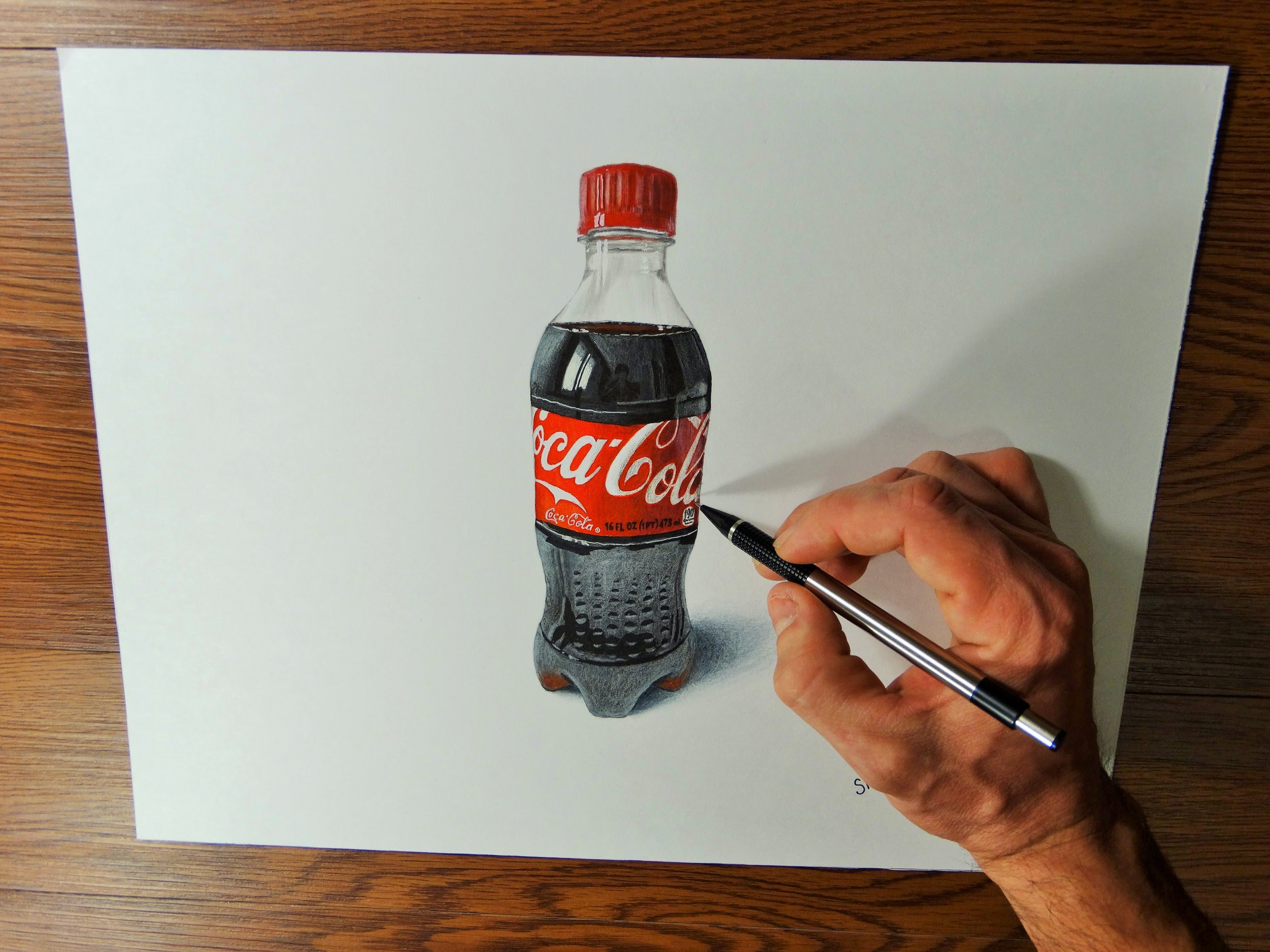 Coca Cola Bottle Drawing At Getdrawings Com Free For