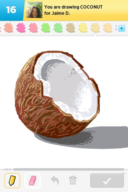 500x750 Coconut Drawings