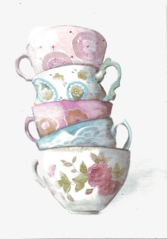 564x805 Mug, Hand Painted Mugs, Creative Coffee Cup, Drawing Mug Png Image