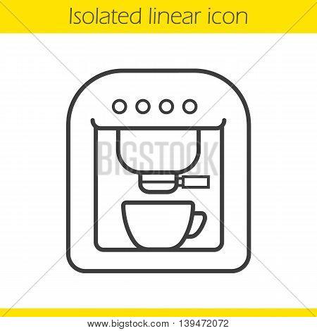 450x470 Coffee Machine Linear Icon Vector Amp Photo Bigstock