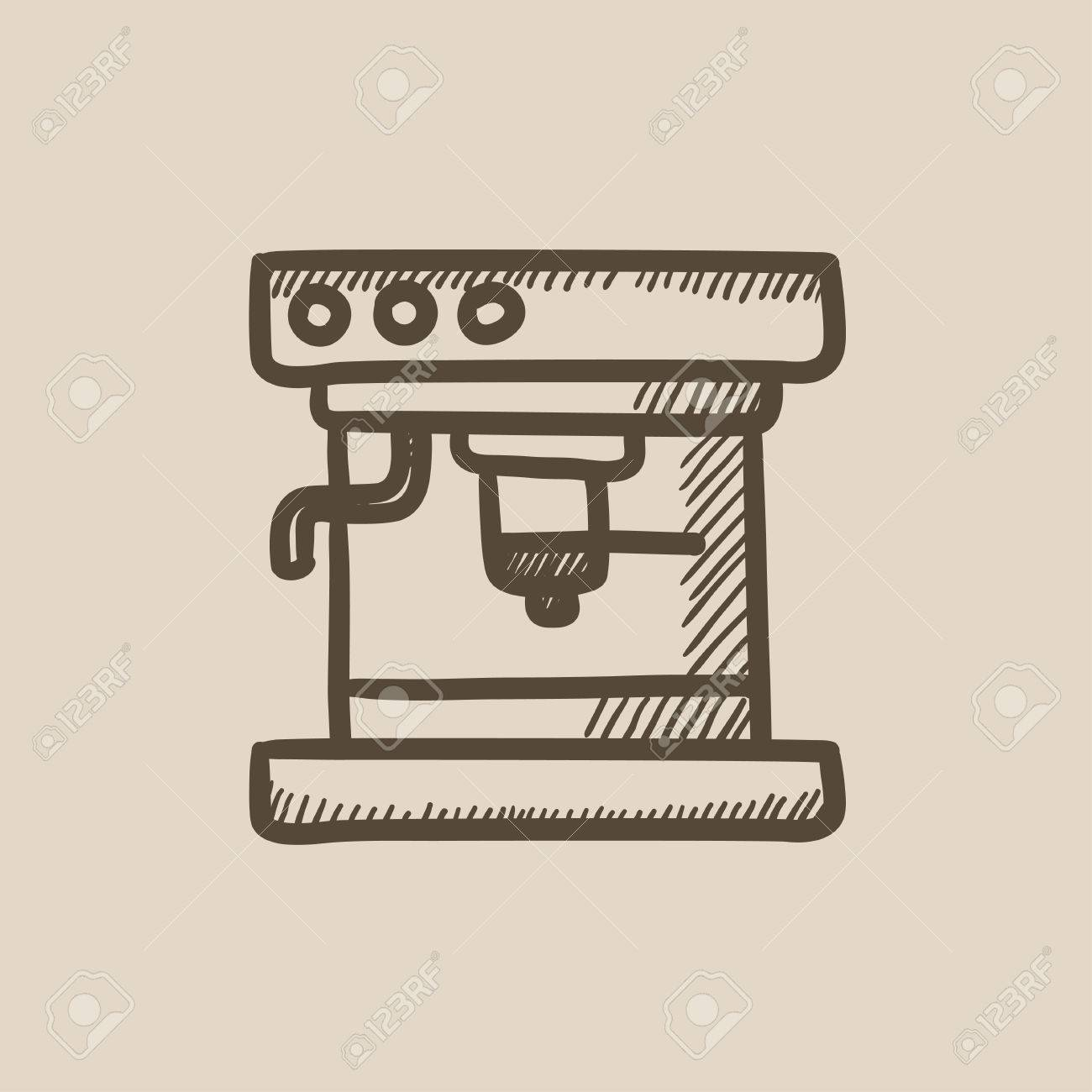 Coffee Maker Drawing at GetDrawings.com | Free for personal use ...
