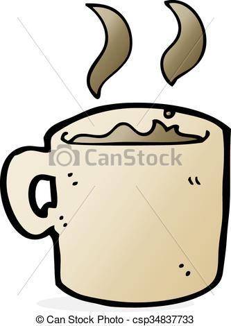 333x470 Cartoon Mug Of Coffee Vectors