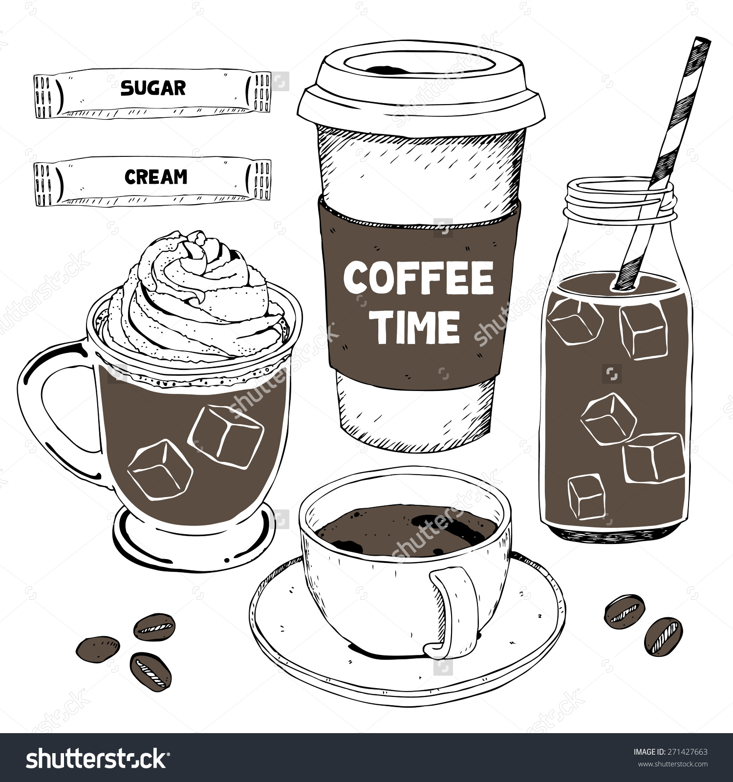 1500x1600 How To Draw A Coffee Cup