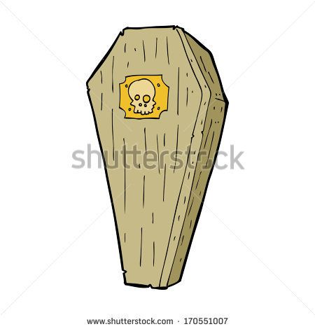 450x470 Deluxe Coffin Cartoon Stock Images Similar To Id Quirky Coffin