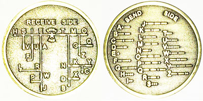 400x200 Morse Code Coin Drawing Wisconsin Public Radio