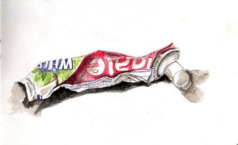 481x293 Edm 275 Draw A Tube Of Toothpaste Sketchbook Assignments