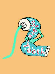 194x259 Toothpaste Drawing