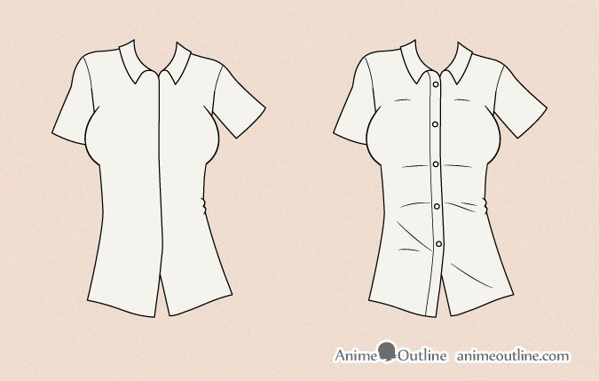 675x429 How To Draw Anime Clothes Anime Outline