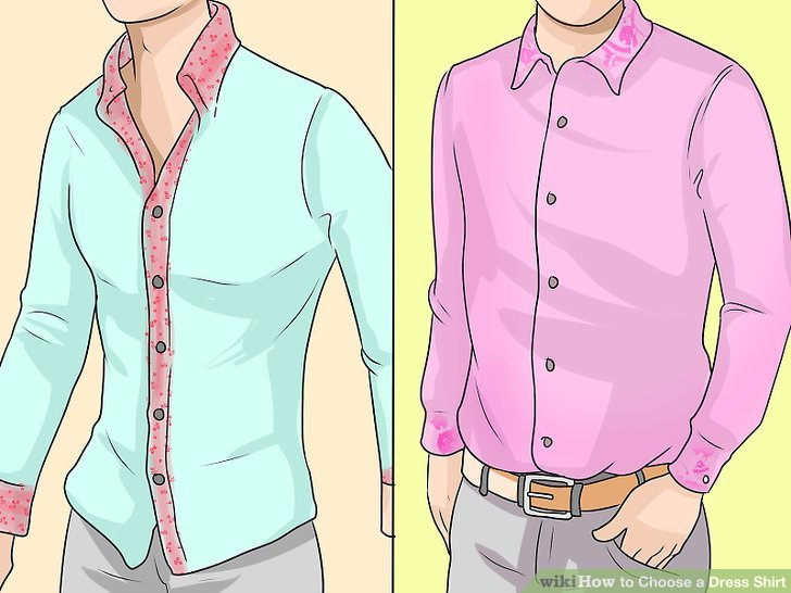 728x546 How To Choose A Dress Shirt (With Pictures)