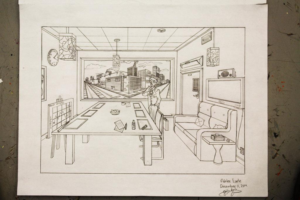 1024x683 Drawing Aptitude Test Algonquin College Portfolio By