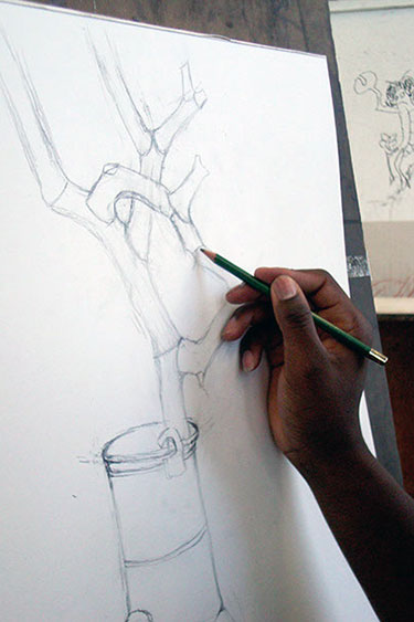 375x563 Drawing Community College Of Rhode Island