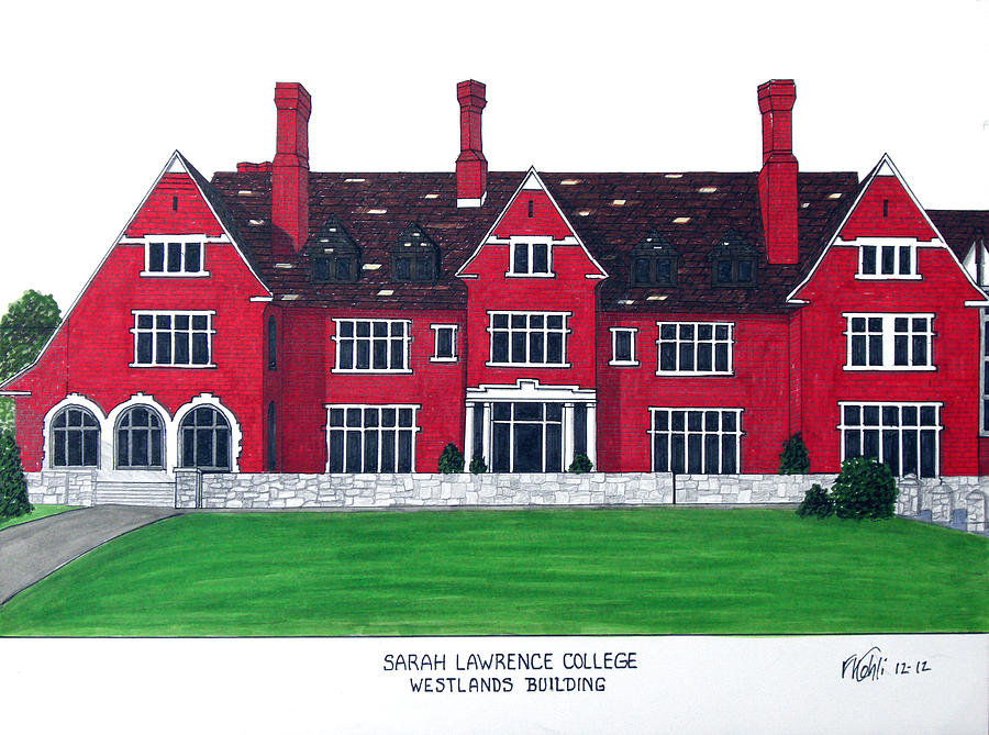 900x669 Sarah Lawrence College Drawing By Frederic Kohli