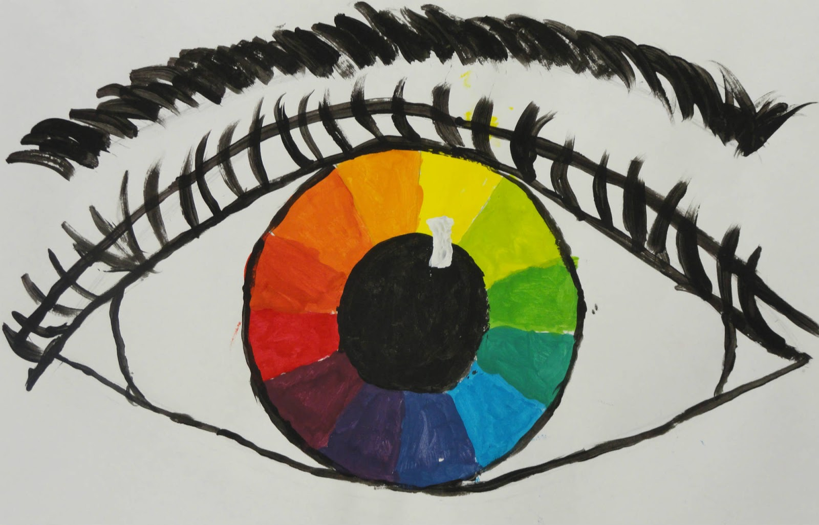 1600x1026 Color Wheel Drawing The Smartteacher Resource Color Wheel Eyes