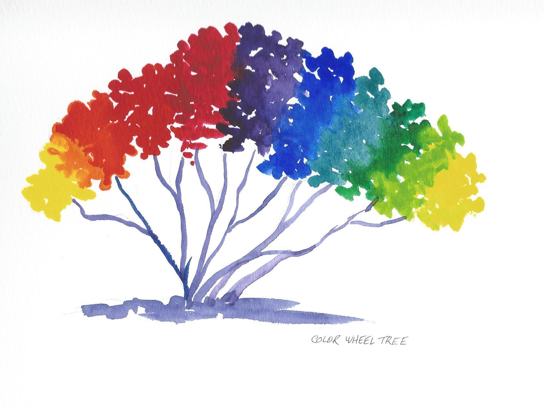 1821x1367 The Color Wheel Tree Stafford Artworks