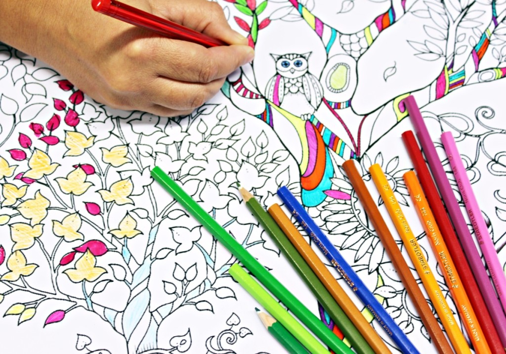 1024x716 25 Best Coloring Books Pages For Adults To Relieve Stress