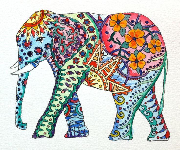 736x616 Image Result For Elephant Painting Etsy Amp Ebay Galore