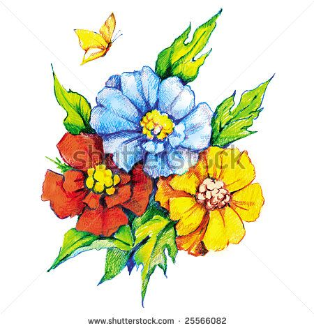 450x470 8 Best Draw Images On Drawing Flowers, Cartoon Flowers