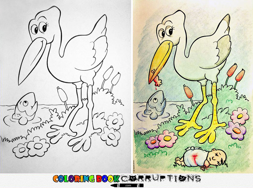 880x654 Coloring Book Corruptions See What Happens When Adults Do