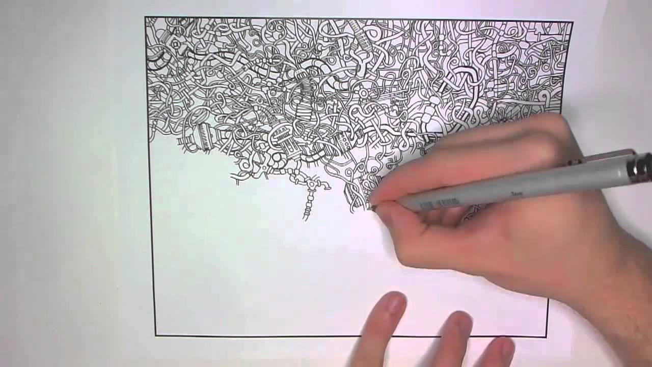 1280x720 Drawing A Series Of Tubes (For The Coloring Book!)