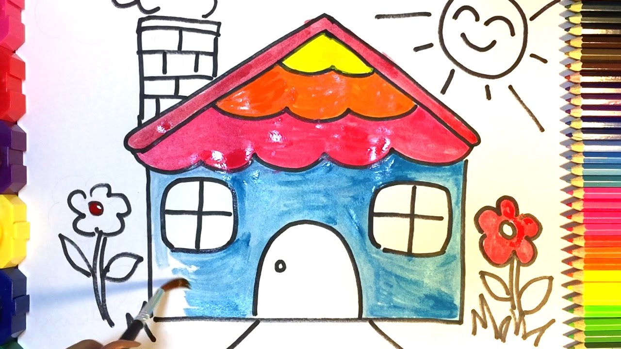 1280x720 Colour Drawing For Kids