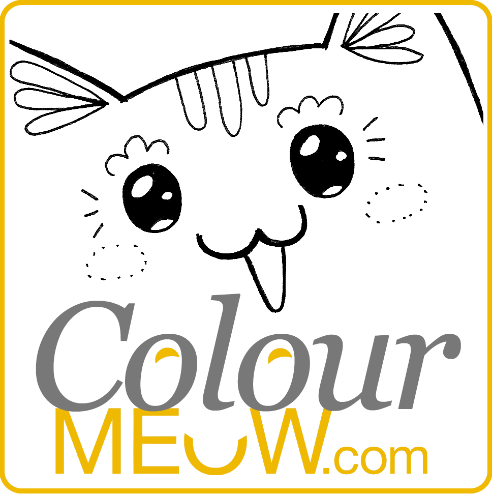 968x971 Colour Meow Cat Colouring Pages Amp Cat Drawings For Adults. Anti