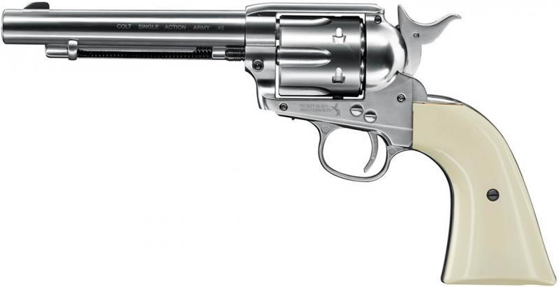 800x411 Umarex Colt Saa 45 4.5mm Pellet Nickel Blades And Triggers