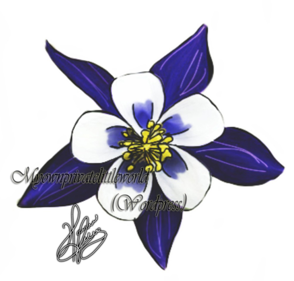 600x574 Aquilegia Aka Columbine Drawing Art Is My Passion
