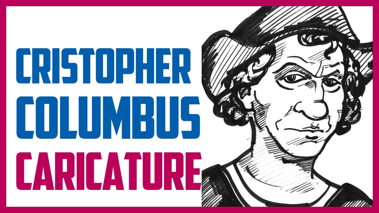 1280x720 Christopher Columbus Caricature Speed Drawing A Caricature