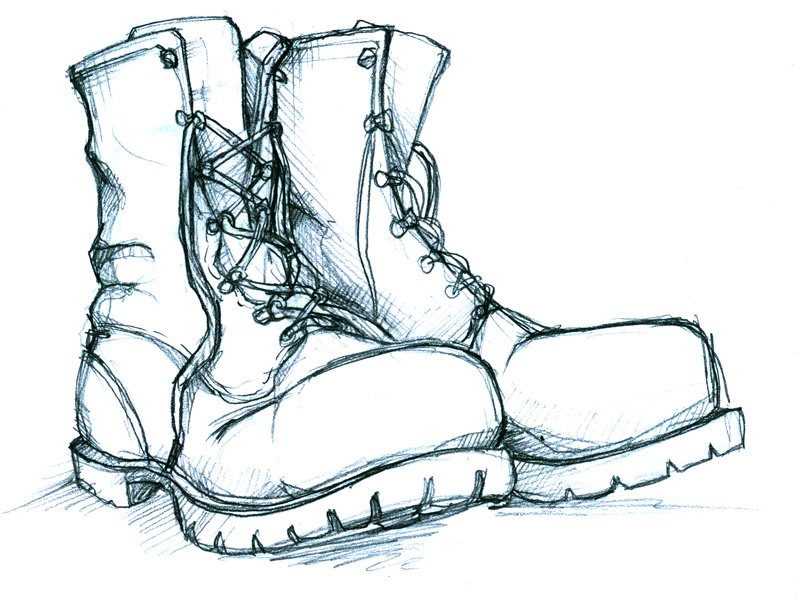how to draw boots s