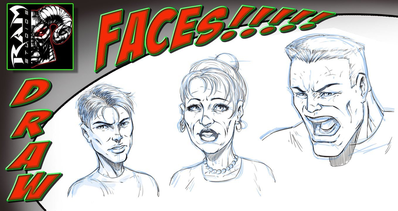 1358x720 Drawing Comic Book Faces