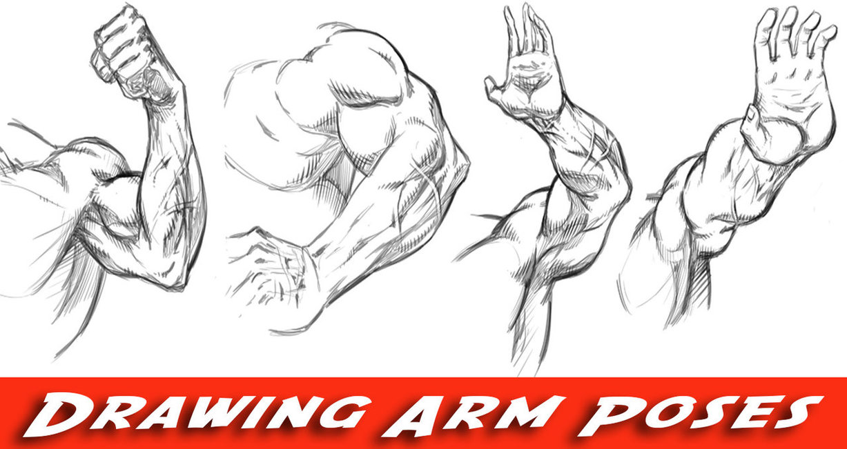 1227x651 How To Draw Arms