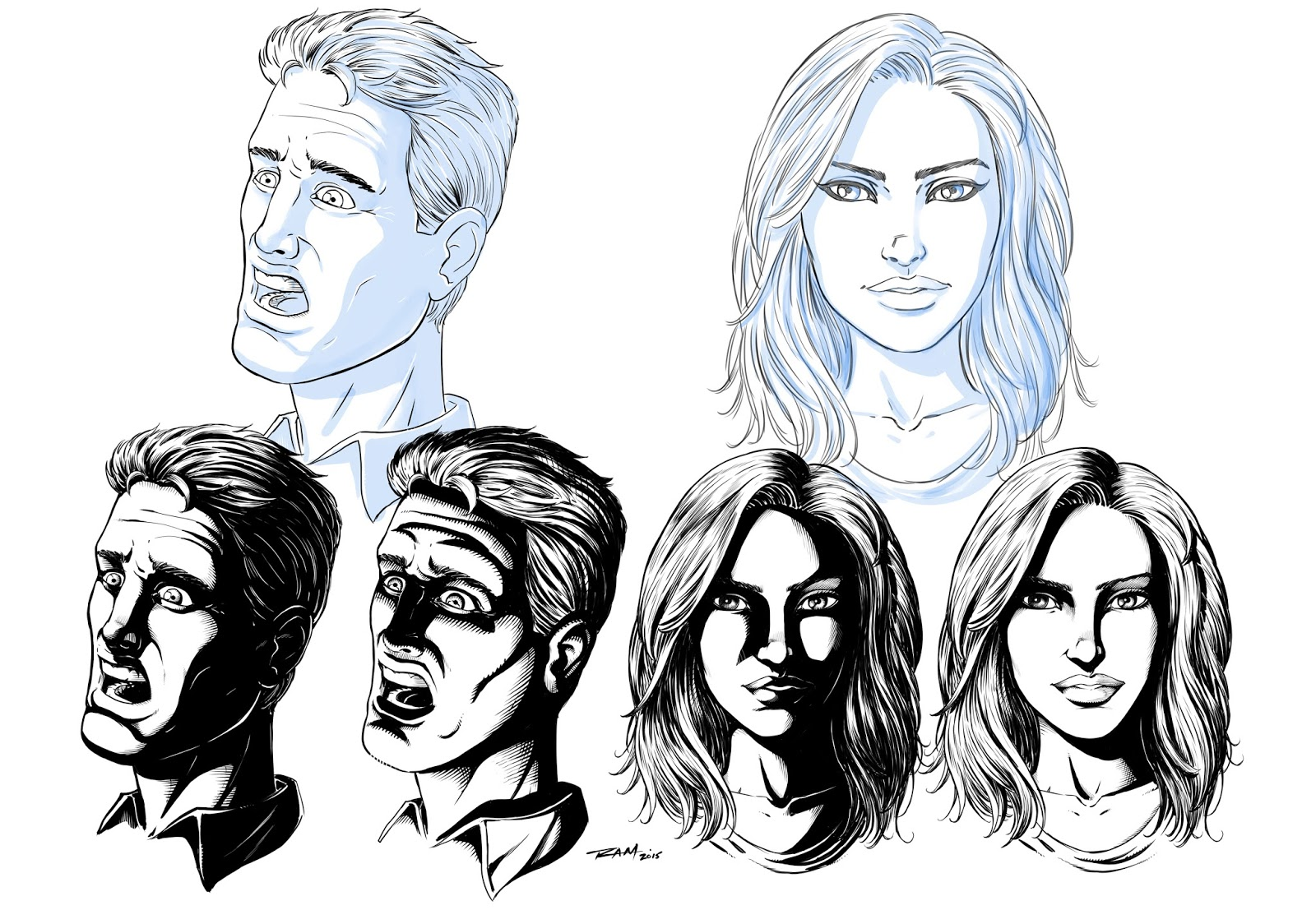 1600x1107 Ram Studios Comics How To Draw Shadows On Comic Book Faces By