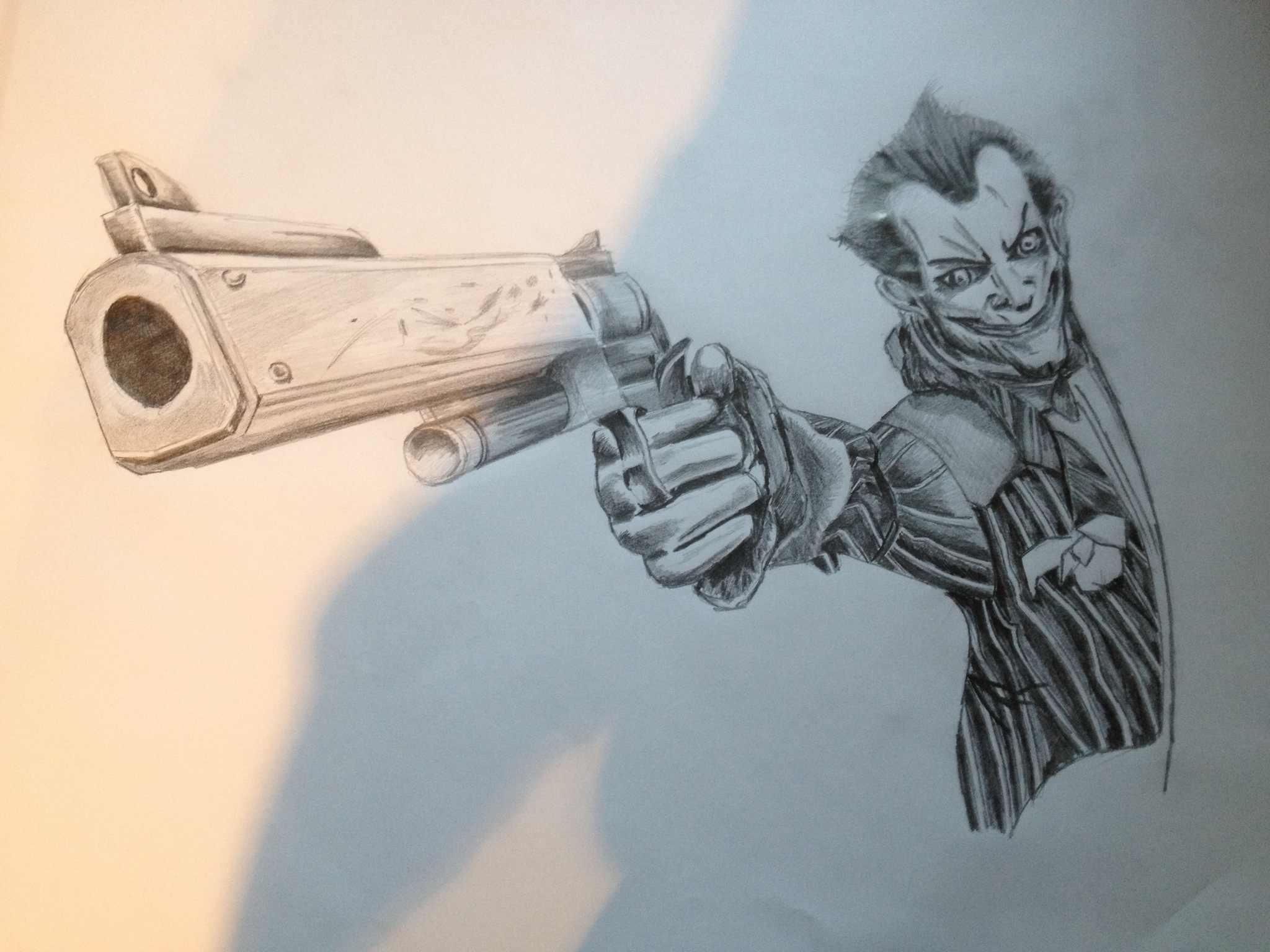 2048x1536 Love Drawing Comic Book Characters So Here's The Joker Joker