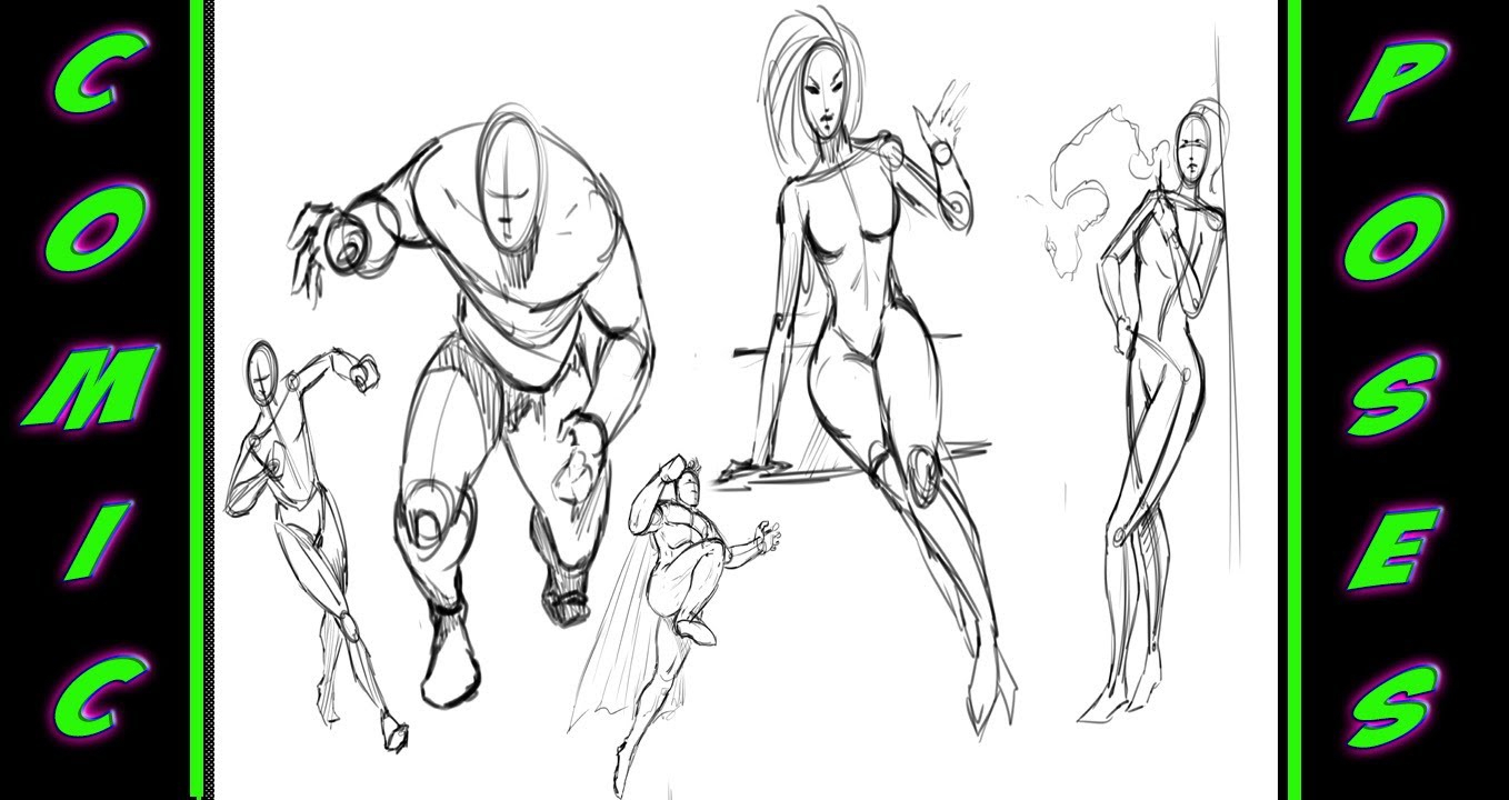 1358x720 Comic Book Drawing Styles Drawing More Poses