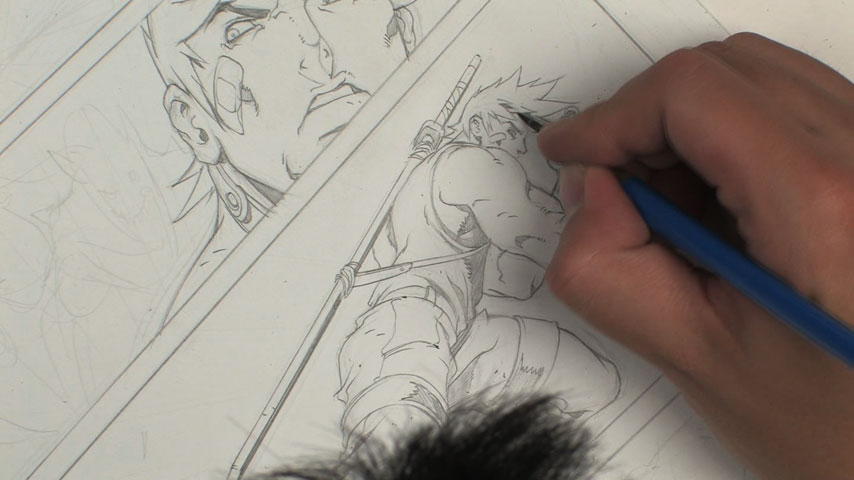 854x480 Comic Book Layout And Pencilling The Gnomon Workshop