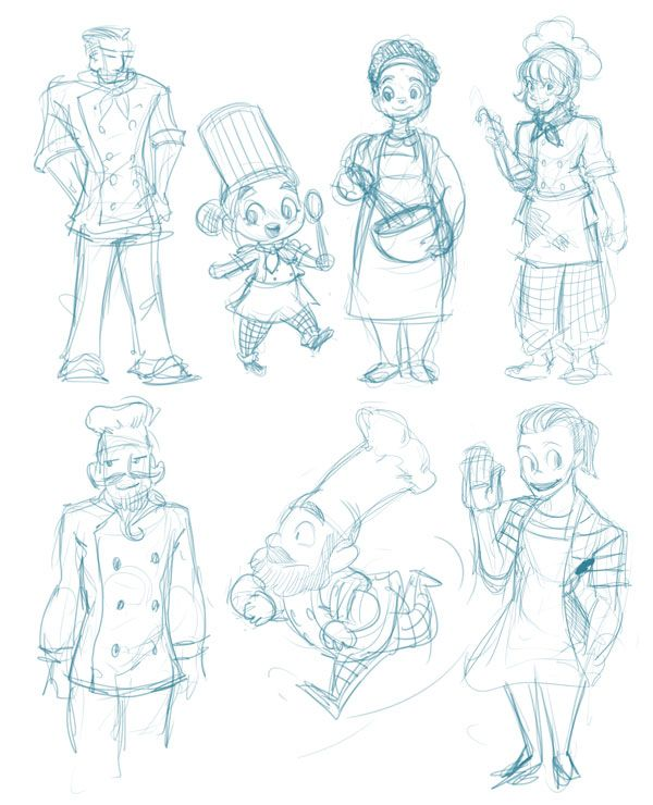 600x740 Character Concept Sketches New Character Concept